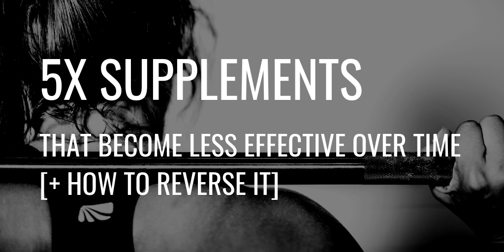Supplements Less Effective Header